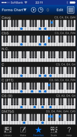 Piano piano chords list : Piano Kit E | Rootage Official Site